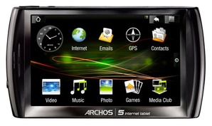 MP3 HDD плеер Archos 5 Internet Tablet 500Gb
