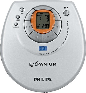 CD MP3 плеер Philips EXP201